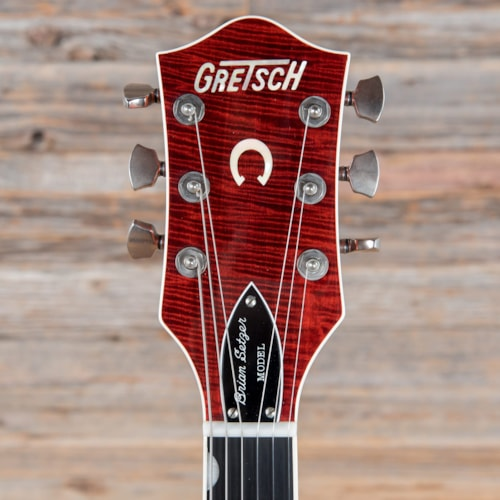 Gretsch G6120SSU Brian Setzer Nashville Tiger Flame Maple Orange 2004