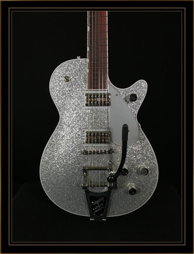 Gretsch G6129T Player's Edition Jet Silver Sparkle