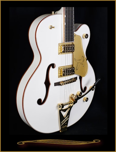 Gretsch® G6136T-WHT Players Edition White Falcon with Bigsby White, Brand New, Hard