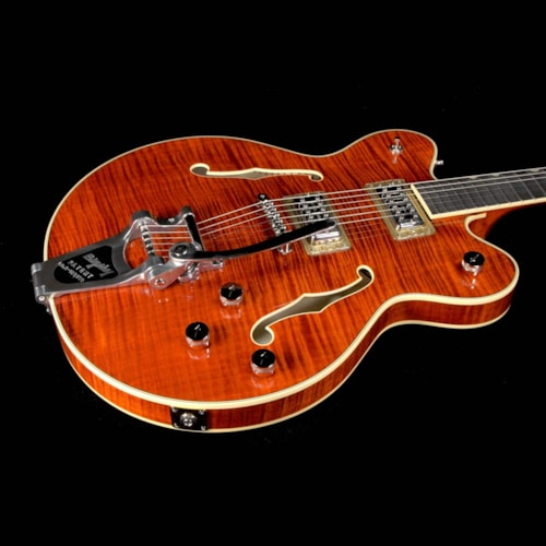 Gretsch G6609TFM-BBN Players Edition Broadkaster with Bigsby Bourbon Stain
