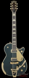 Gretsch Gretsch Vintage Select '57 Duo Jet with Bigsby TV Jones Cadillac Green G6128T-57