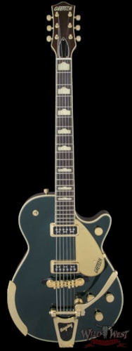 Gretsch Gretsch Vintage Select '57 Duo Jet with Bigsby TV Jones Cadillac Green G6128T-57 Cadillac Green, Brand New