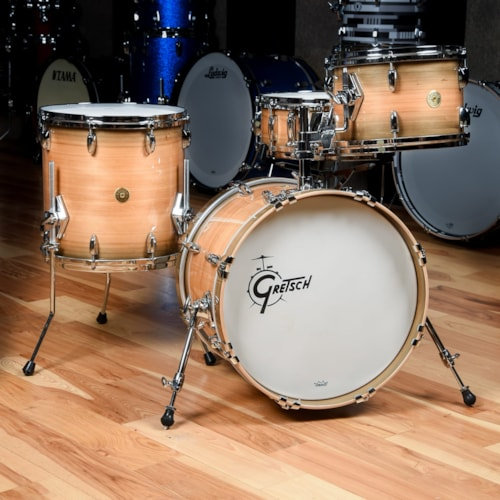 Gretsch USA Custom 12/14/18/5x14 4pc. Drum Kit River Cypress Limited Edition
