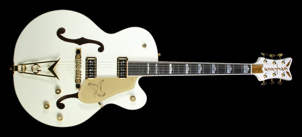 Gretsch Used Gretsch G6136DS White Falcon Electric Guitar White, Excellent, $2,499.00