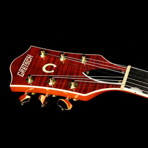 Gretsch Used Gretsch G6620TFM Players Edition Nashville Electric Guitar with Bigsby Orange Stain