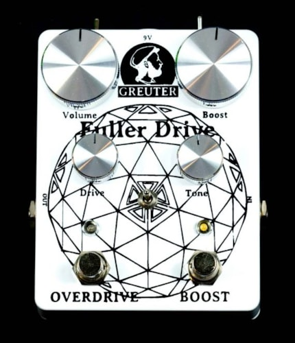 Greuter Fuller Drive with Boost Black on Soft White