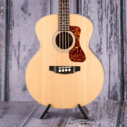 Guild B-240E Acoustic Electric Bass, Natural