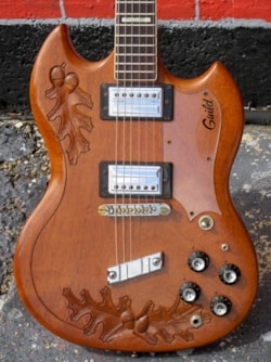 1973 Guild S-100 Carved