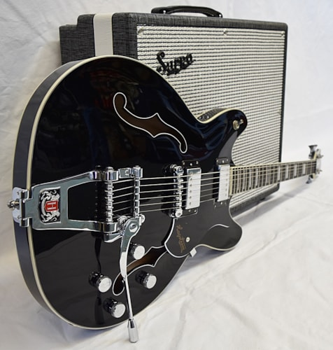 Hagstrom Viking Deluxe Tremar Gloss Black