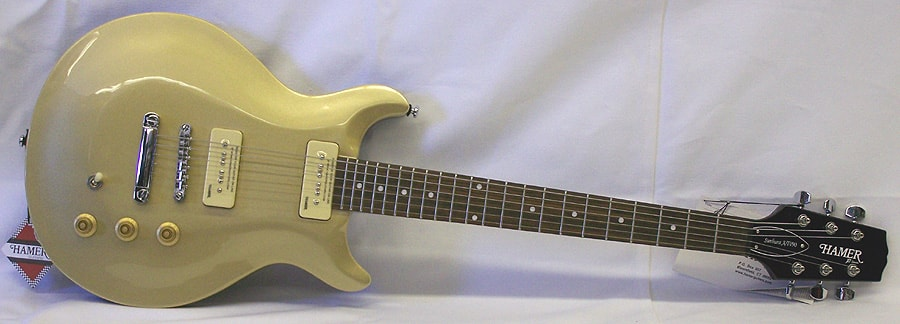 Hamer Archtop P-90 Gold Top, Brand New