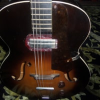 1960 Harmony H51 Archtop Electric
