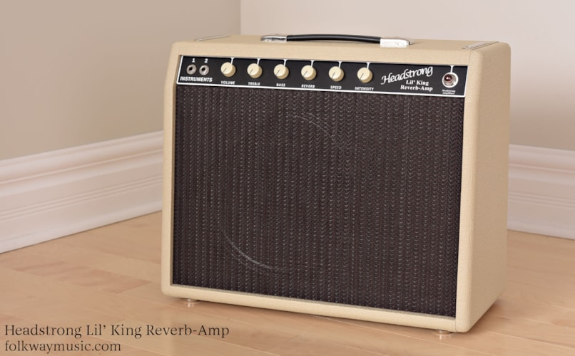 HEADSTRONG  Lil' King Reverb Blond / Oxblood, Brand New, Call For Price!