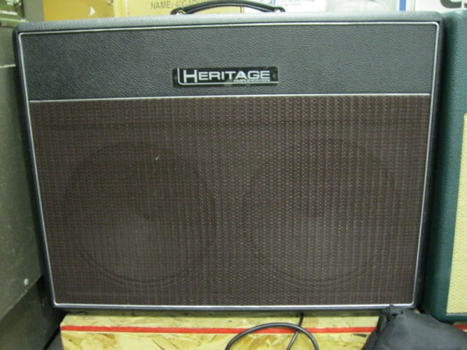Heritage Amplifiers Briton 2x12 Black, Brand New