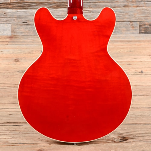 Heritage H-535 Standard Semi-Hollow Translucent Cherry (Serial# AI05202) USED