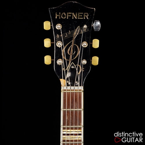 HOFNER 463 S E3 Natural, Very Good, Hard