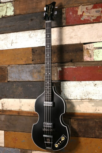 Hofner 500/1 Gold Label Violin Bass Matte Black B-Stock Brand New $1,995.00