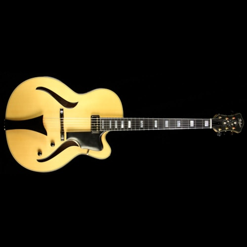 HOFNER Used Hofner Jazzica Custom Archtop Electric Guitar Natural Natural, Excellent, $2,799.20