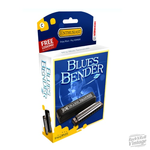 Hohner Blues Bender Harmonica - Key D Brand New $20.99