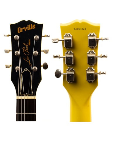 1996 Orville by Gibson Les Paul Junior Double-Cutaway TV Yellow