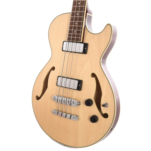 Ibanez AGB200 Artcore Hollow Body Electric Bass Natural