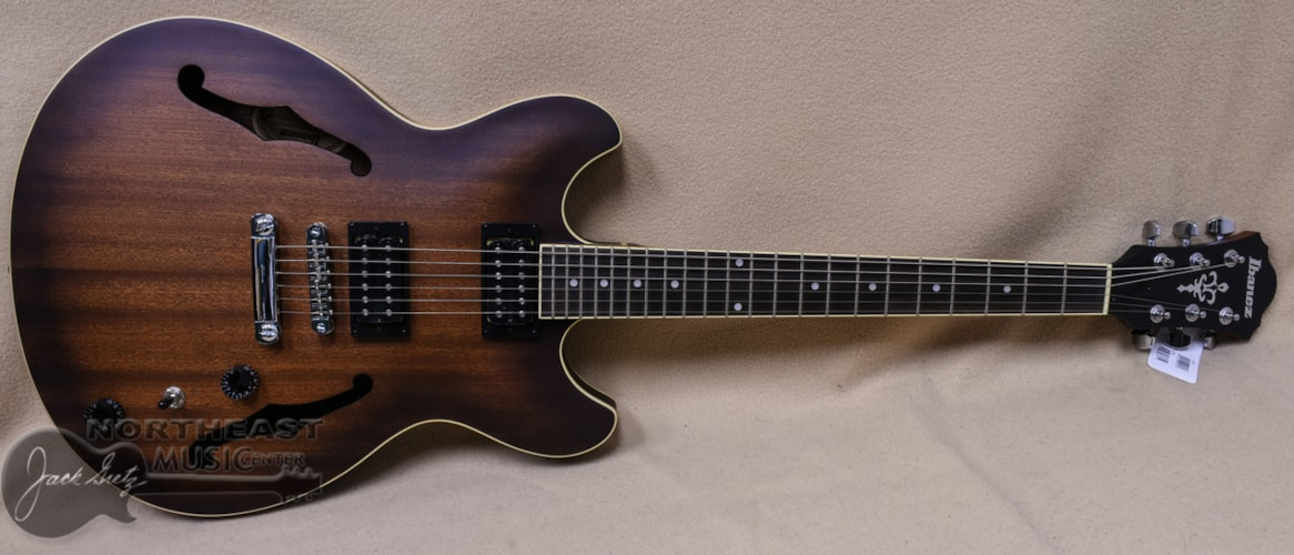 Ibanez Artcore AS53 Semi-Hollow - Tobacco Flat Brand New $299.99