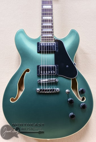 Ibanez Artcore AS73 Hollow Body -  Olive Green Metallic