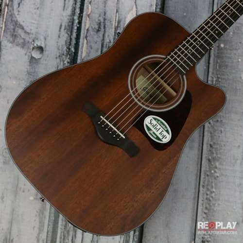 Ibanez Artwood AW54CE Open Pore Natural Brand New $299.99