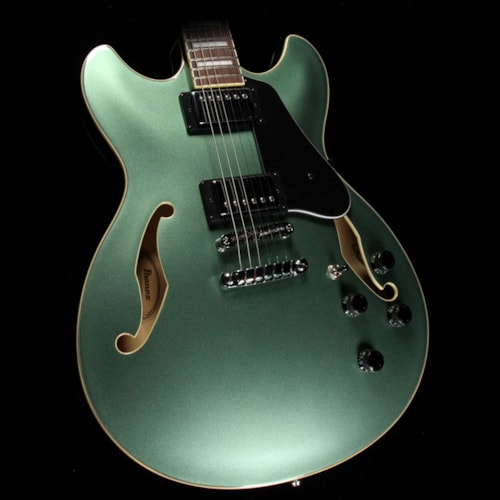 Ibanez AS73 Artcore Electric Guitar Olive Metallic Brand New $399.99