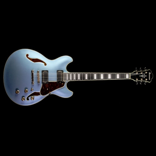 Ibanez AS83 Artcore Expressionist Electric Guitar Steel Blue