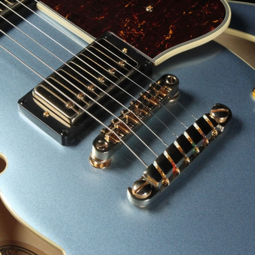 Ibanez AS83 Artcore Expressionist Electric Guitar Steel Blue Brand New $599.99