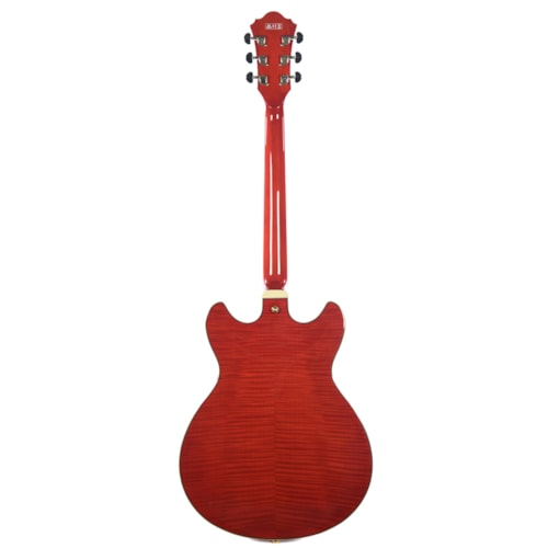 Ibanez AS93FM Artcore Expressionist Semi-Hollow Body Transparent Cherry Red w/Ibanez Hardshell Case