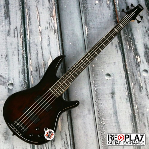 Ibanez GIO GSR205SM - 5 string - Charcoal Brown Burst Very Good, $219.99