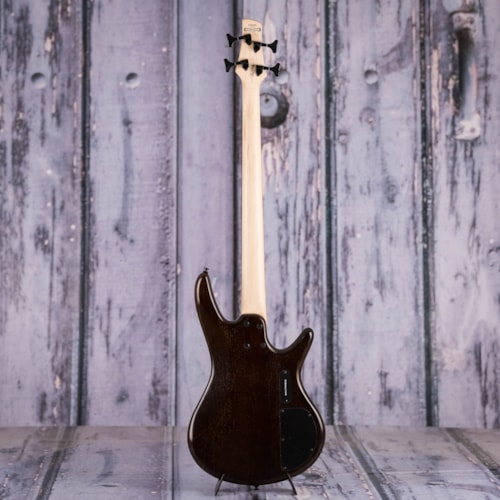 Used Ibanez GSR200 Left Handed Electric Bass, Flat Walnut
