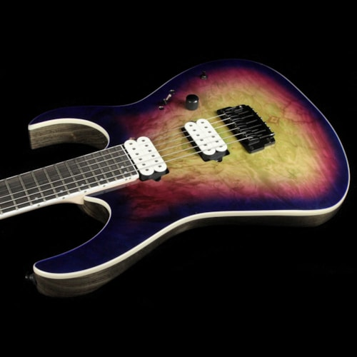 Ibanez Iron Label RGIX6FDLB Northern Lights Burst Brand New
