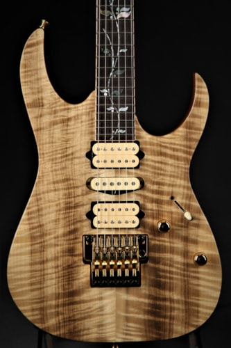 Ibanez RG8570MWNT J Custom Limited Edition - Natural Brand New, Hard