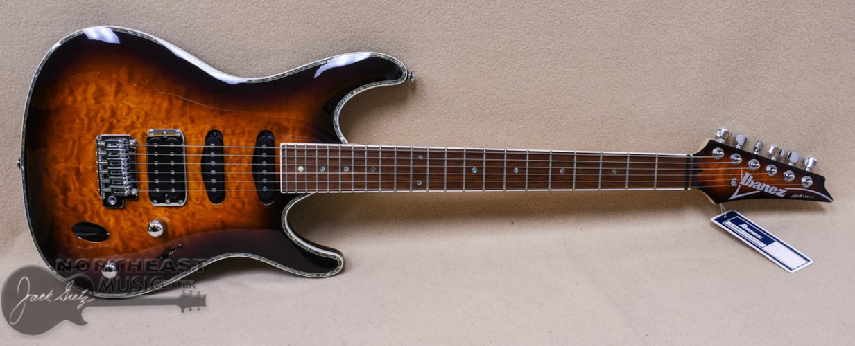 Ibanez SA460 - Antique Brown Burst Brand New $499.99