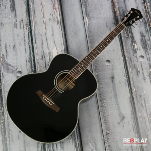 Ibanez SGT130BK Jumbo acoustic guitar Very Good, $174.99