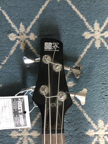 Ibanez Soundgear SR 300 DX Bass Black, Very Good