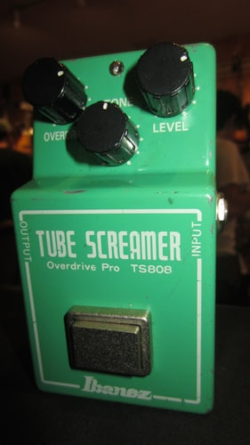 Ibanez TS-808 Reissue Tube Screamer Overdrive Pro Green, Excellent, $129.00