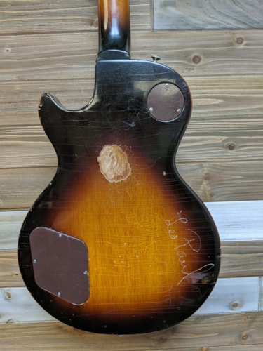 1973 Gibson Les Paul Deluxe - Standard Conversion - Tobacco Sunburst