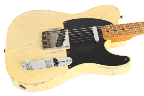 Fender CS 70th Anniversary Masterbuilt Broadcaster Blonde