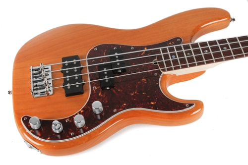 2007 Fender American Deluxe Precision Bass Natural