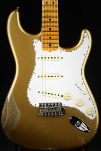 Fender Custom Shop LTD Relic '64 Special Stratocaster - Aztec Gold Over Gold Sparkle (1964 reissue)