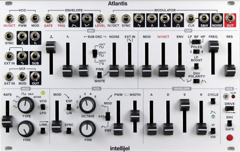Intellijel Atlantis Brand New $699.00