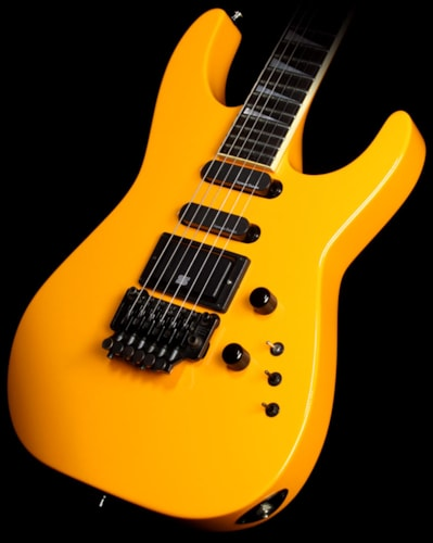 Jackson 1987 Jackson Soloist 24 Fret Ebony Fretboard Electric Guitar Yellow Metallic Yellow Metallic, Excellent, $1,749.00