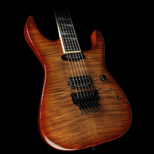 Jackson Custom Select Soloist Electric Guitar Root Beer Burst Root Beer Burst, Brand New, $3,999.99