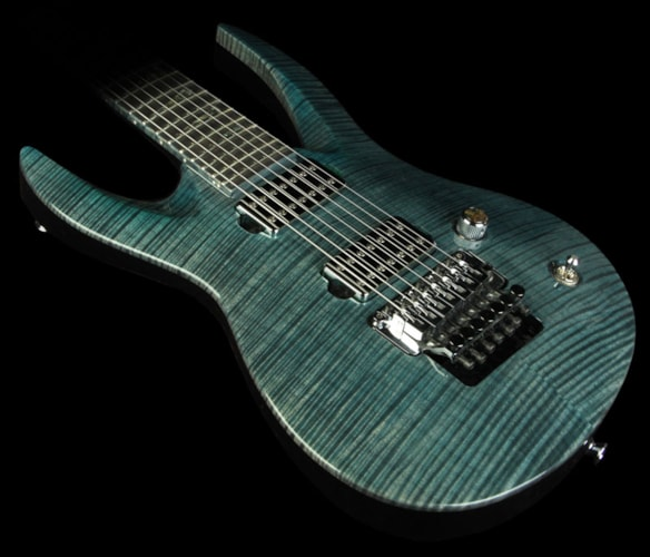 Jackson Custom Shop MB Pablo Santana NAMM One-Off 7-String Demon Guitar Green Brand New, $6,376.00