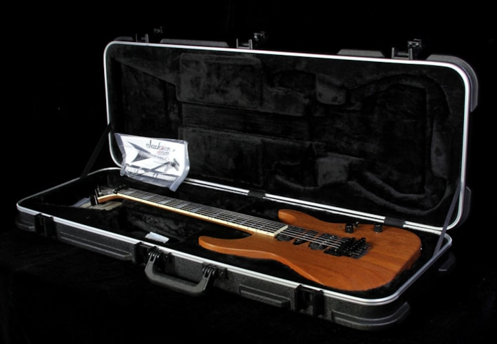 Jackson Custom Shop Music Zoo Exclusive SL2H Soloist Carbonized Mahogany Electric Guitar Natural Oil Natural, Brand New, $3,299.00