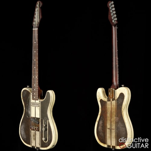 James Trussart Holey Steelcaster Rust on Cream, Brand New, Original Hard, $5,949.00