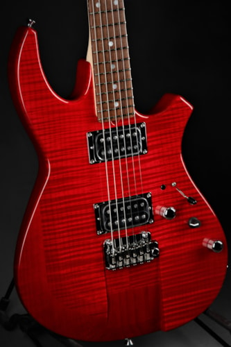 James Tyler Ultimate Weapon - Transparent Red/NAMM Instrument  Brand New, Hard
